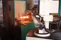 电站用阀体自动锻压机械手生产线