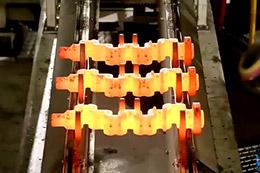 15万吨锻压机锻造零件