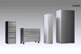 橱柜和储物柜的3D动画面板折弯线