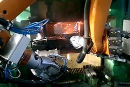 锻压机器人自动化线