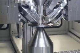 钢铁加热旋压技术