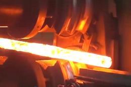 少见的废铁锻造成零件