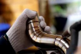 手工焊接不锈钢排气管