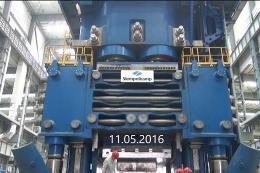 5万吨模锻压机精度测试