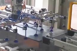 一汽模具冲压线视频