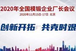 2020年国模锻企业厂长会议(分论坛二)