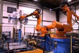 海斯坦普汽车金属零部件生产线