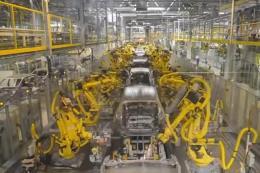 韩国最先进的无人自动化汽车生产线,太牛了