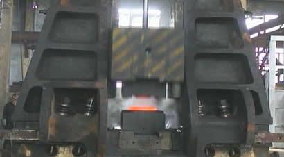 [演示]10吨液压模锻锤