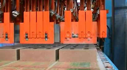 LASCO粉煤灰砖压砖机