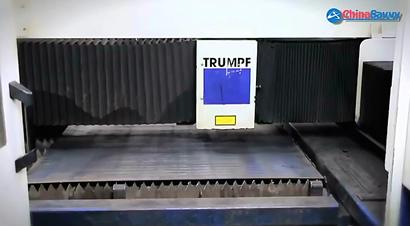 通快5轴数控激光切割设备板材加工演示