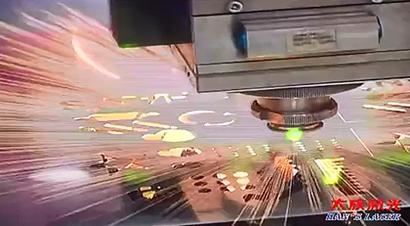 大族激光切在金属平板切割