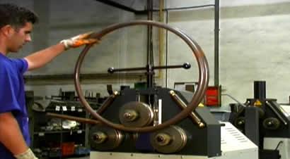 赛乐型材弯曲机