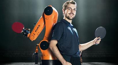 蒂姆·波尔vs库卡机器人
