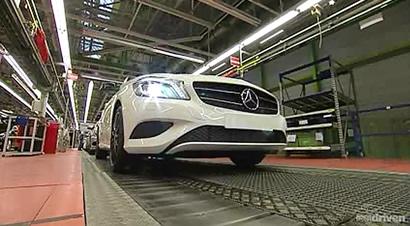 奔驰德国全自动化产品线1