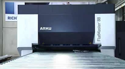 ARKU矫平机板材矫平