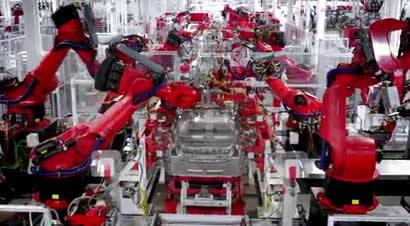 探秘特斯拉美国加州工厂