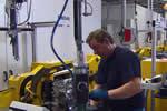 宝马摩托车新发动机生产线