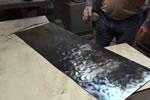简单的金属表面作锈方法