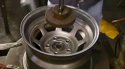汽车轮毂生产工艺演示