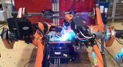 KUKA机器人焊接
