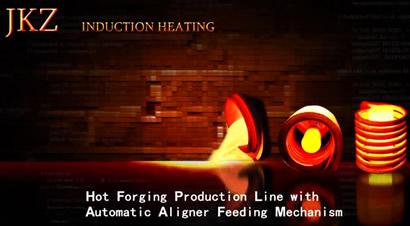 热模锻生产线上自动送料机