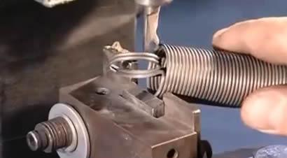 弹簧条制作过程