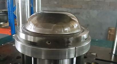 4柱拉深液压机生产线