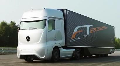 奔驰未来卡车