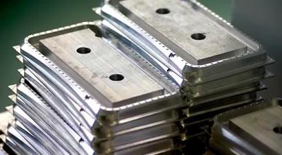 手机铝合金边框制造过程
