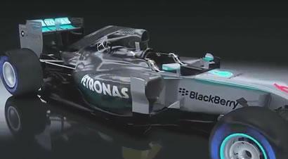 梅赛德斯奔驰F1赛车引擎