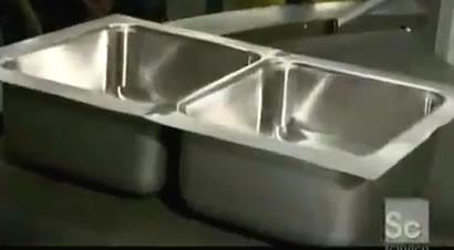 家用洗手池冲压成型过程演