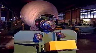 各种形式的卷板机