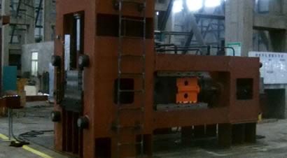 大吨位全液压平锻机演示