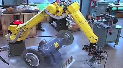 机器人去毛刺