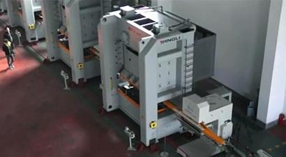 液晶背板机械手自动化线