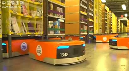 亚马逊机器人仓储系统
