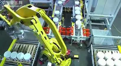 发那科机器人自动卸垛系统