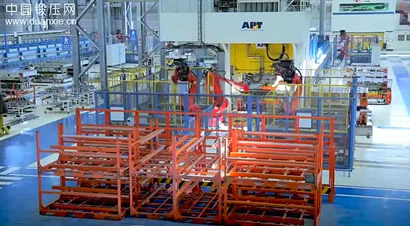 APT压淬生产线