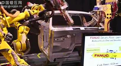 焊接机器人监控系统