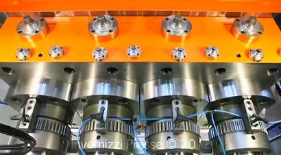 快速冷锻机生产过程