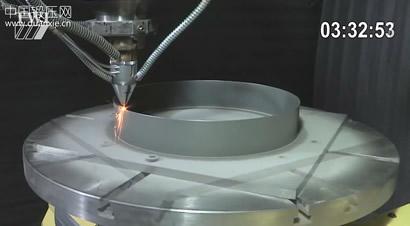 它不是3D打印 5轴激光金属沉积成形