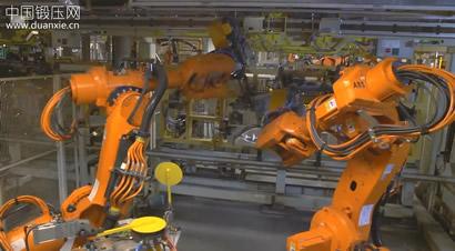 ABB汽车生产焊装机器人