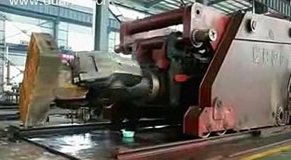 20吨液压锻造操作机测试
