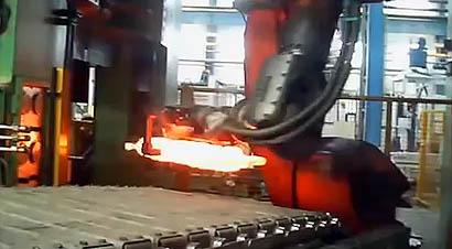 曲轴自动化锻造生产线