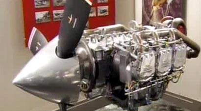 飞机发动机组装过程