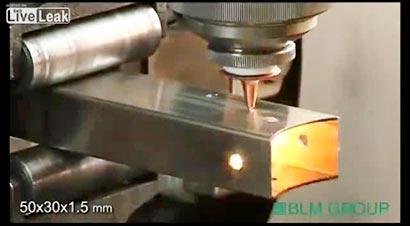 管材数控8轴激光切割机