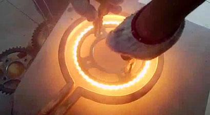链轮感应淬火加热机