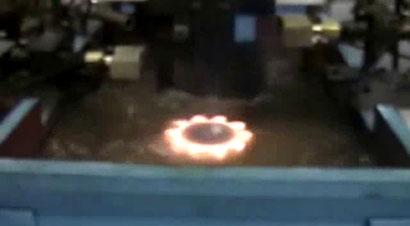 小链轮和齿轮火焰淬火