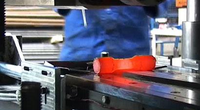 温楔横轧900℃锻件